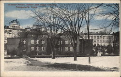 Winter Scene, Salem and High Schools