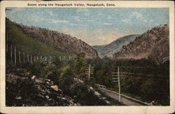 Scene Along the Naugatuck Valley