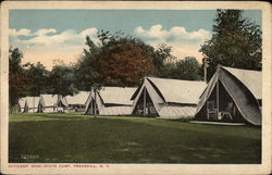 Officers' Row, State Camp