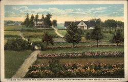 Vies of the gardens and agricultural building, Wartburg Orphan's Farm School