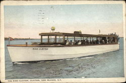 The Miss Clayton, Clayton Postcard