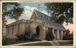 Higgins Memorial Hall, Chautauqua Institution