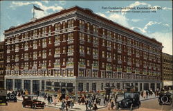Fort Cumberland Hotel in Cumberland, Maryland