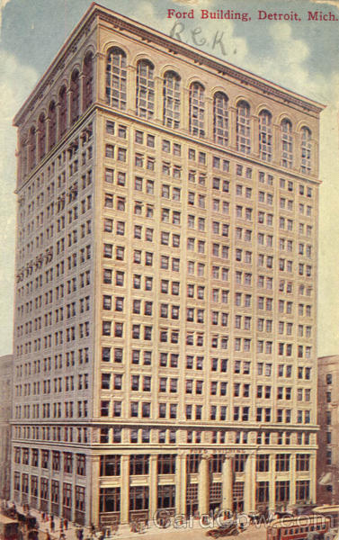 Ford Building Detroit Michigan