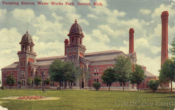 Pumping Station, Water Works Park Detroit Michigan