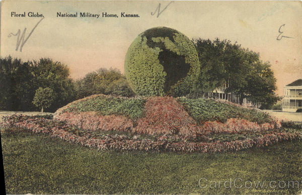 Floral Globe National Military Home Kansas