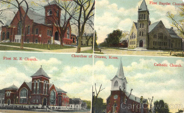Churches of Ottawa Kansas