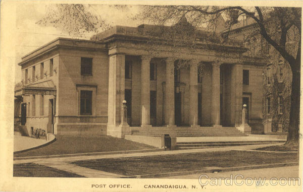 Post Office Canandaigua New York