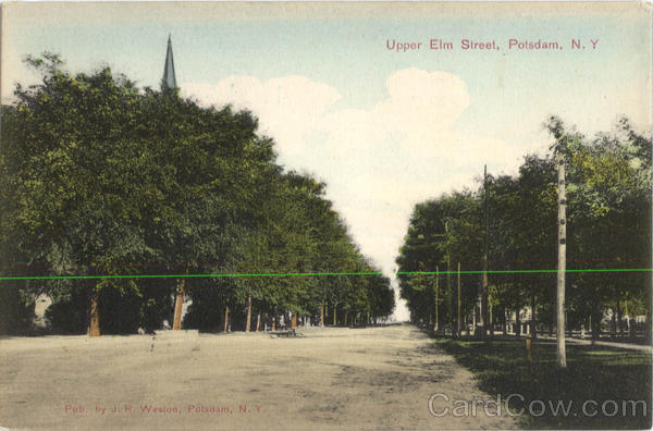 Upper Elm Street Potsdam New York