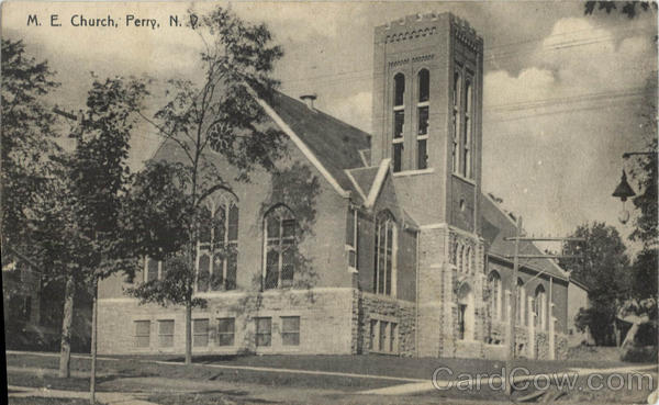 M.E. Church Perry New York