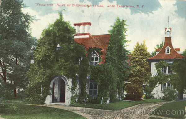 Sunnyside Home of Washington Irving Tarrytown New York