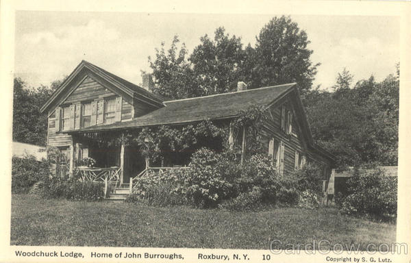 Woodchuck Lodge, Home of John Burroughs Roxbury New York