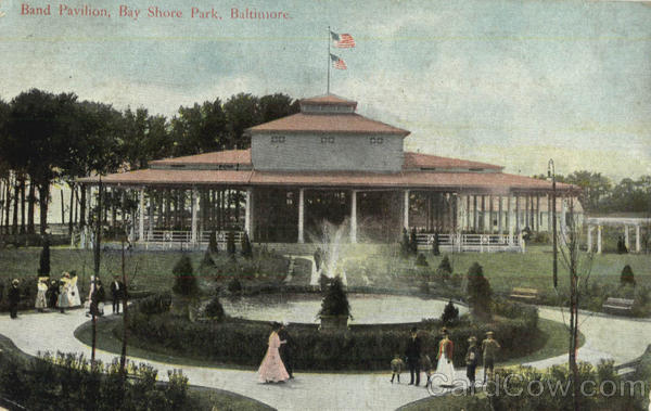 Band Pavillion, Bay Shore Park Baltimore Maryland
