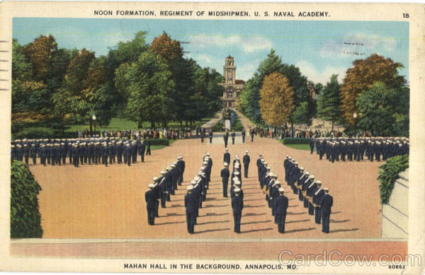 Regiment of Midshipmen, U. S. Naval Academy Annapolis Maryland