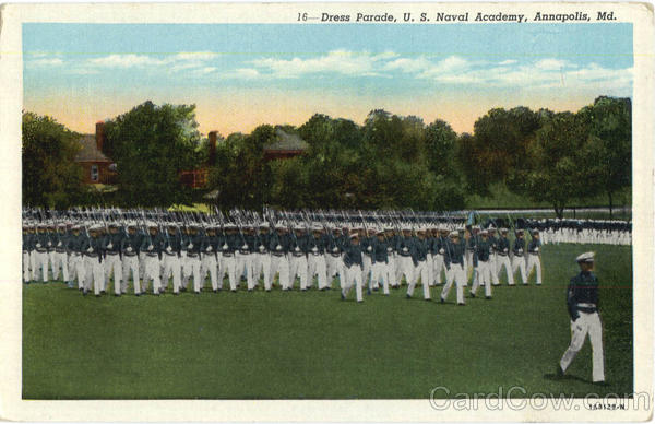 Dress Parade, U. S. Naval Academy Annapolis Maryland