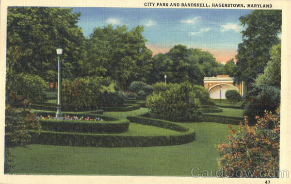 City Park and Bandshell Hagerstown Maryland