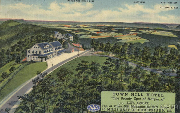 Town Hill Hotel , P. O. Little Orleans Maryland