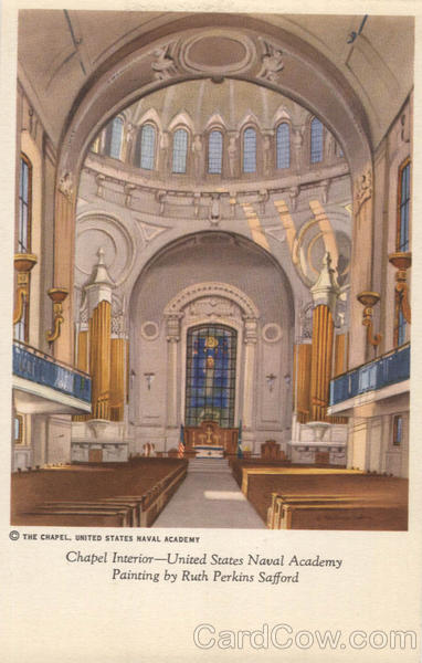 Chapel Interior US Naval Academy Annapolis Maryland