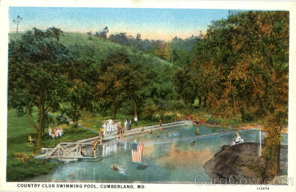 Country Club Swimming Pool Cumberland Maryland