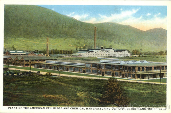 Plant of The American Cellulost and Chemical Manufacturing Cumberland Maryland