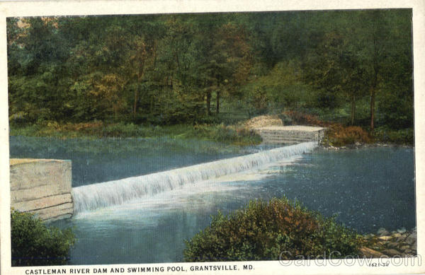 Castleman River Dam and Swimming Pool Garntsville Maryland