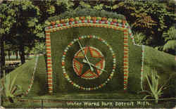 Floral Clock, Gladwin Park, Water Works Park
