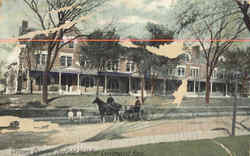 Officers Quarter Scofield Hall Postcard