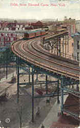 100th Street Elevated Curve