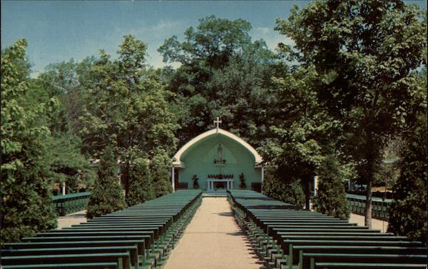 Outdoor Chapell, Shrine of Our Lady of La Salette Attleboro Massachusetts