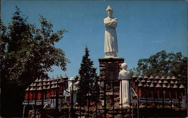 The Assumption-Garden of the Apparition Shrine of Our Lady of La Salette Attleboro Massachusetts