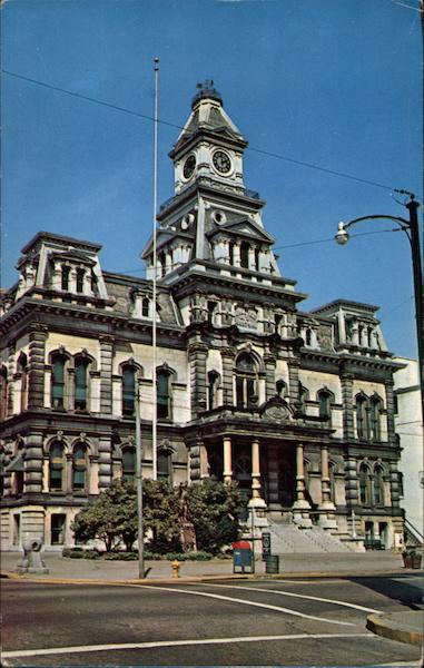Muskingum County Courthouse Zanesville Ohio