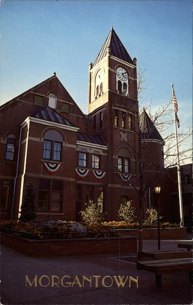County Court House Morgantown West Virginia