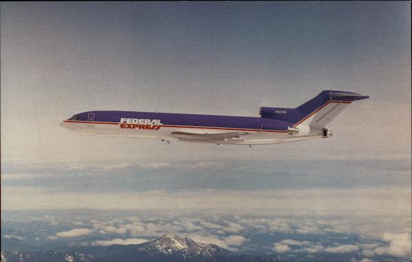 Federal Express Boeing 727-2S7F Boeing Commercial Airplane Company