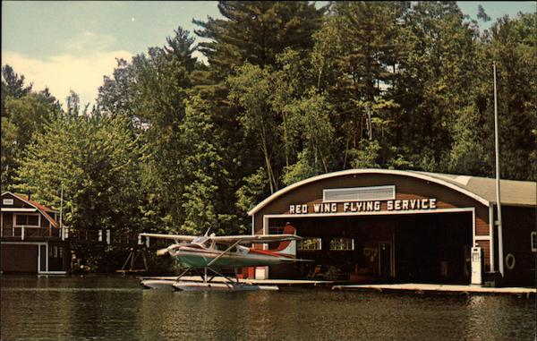 Home of Red Wing Flying Service Port Carling Canada