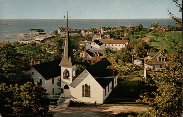 Trinity Episcopal Church Mackinac Island Michigan