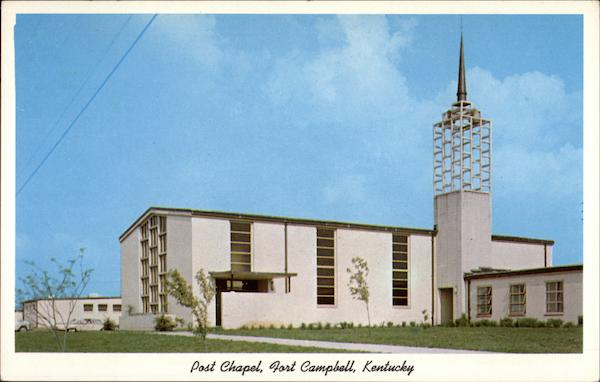 Post Chapel, Fort Campbell Kentucky