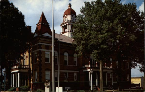 Gibson County Courthouse Trenton Tennessee Mark King