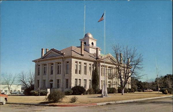 Blanco County Court House Johnson City Texas