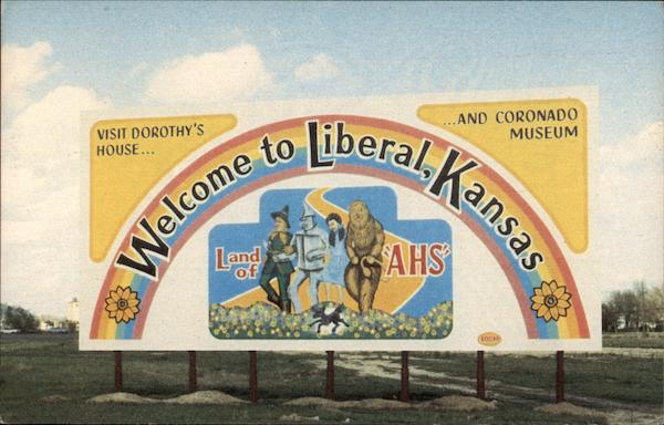 Welcome to Liberal, Kansas