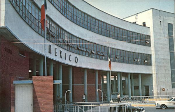 Customs Building Tamps Mexico