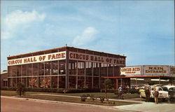 Entrance Building to the Circus Hall of Fame