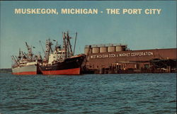 Muskegon, Michigan - The Port City