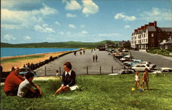 Beach and Promenade, North Wales