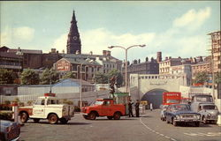 Mersey Tunnel Entrance Postcard