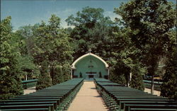 Outdoor Chapell, Shrine of Our Lady of La Salette