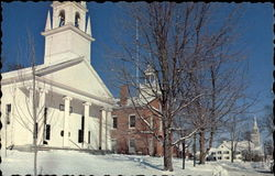 Wiscasset Church & Courthouse