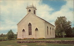 South Solon Meeting House 1842 Postcard