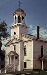 First Universalist CHurch, Built in 1848