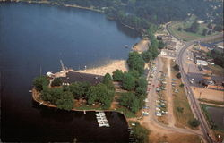 Aerial View, Lake Cable