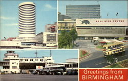 The Rotunda, The Bull Ring Centre, The Airport